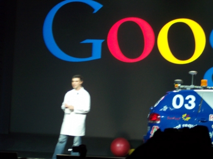 Larry Page Keynote Begins moblog2