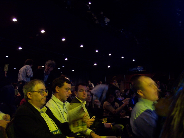Waiting for Larry Page Keynote to Begin moblog1