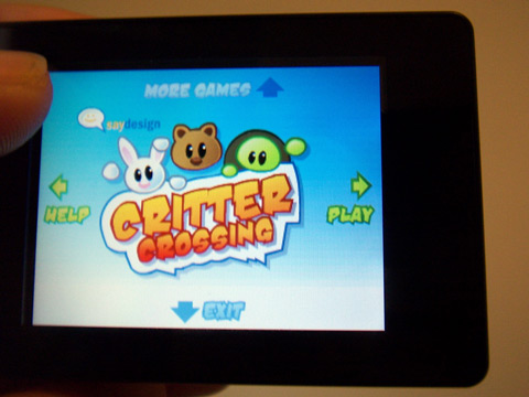 Critter Crossing Flash Game