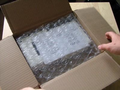 iRiver clix Package Open
