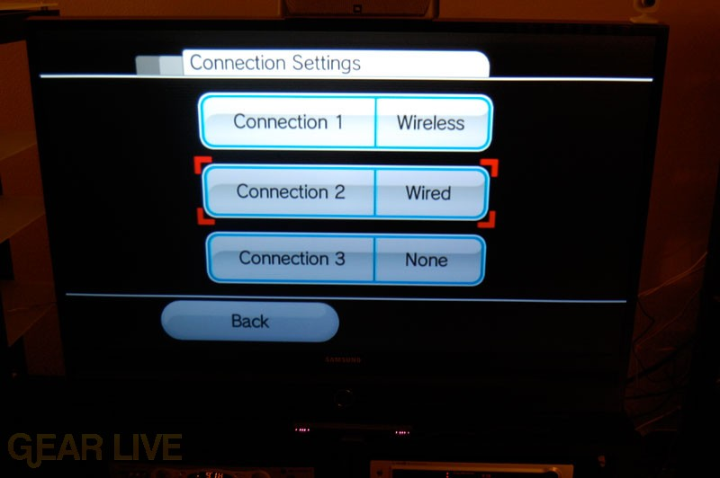 Setting Up Wii Wired Internet Connection