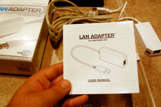 Datel Wii LAN Adapter Manual
