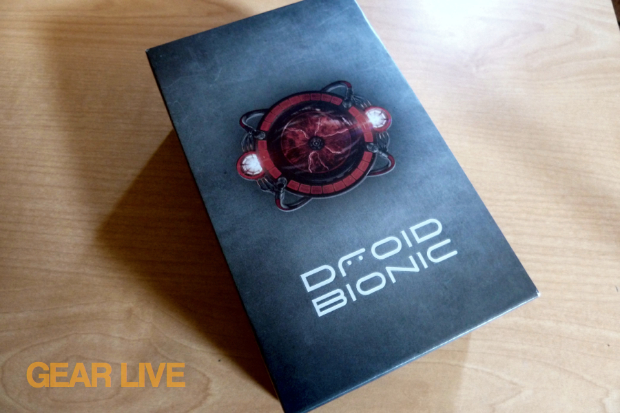Droid Bionic box