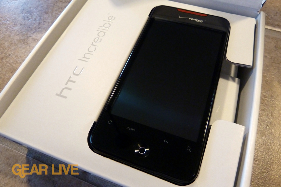 HTC Droid Incredible in  box