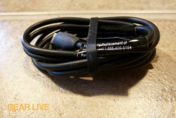 HTC Droid Incredible USB cable
