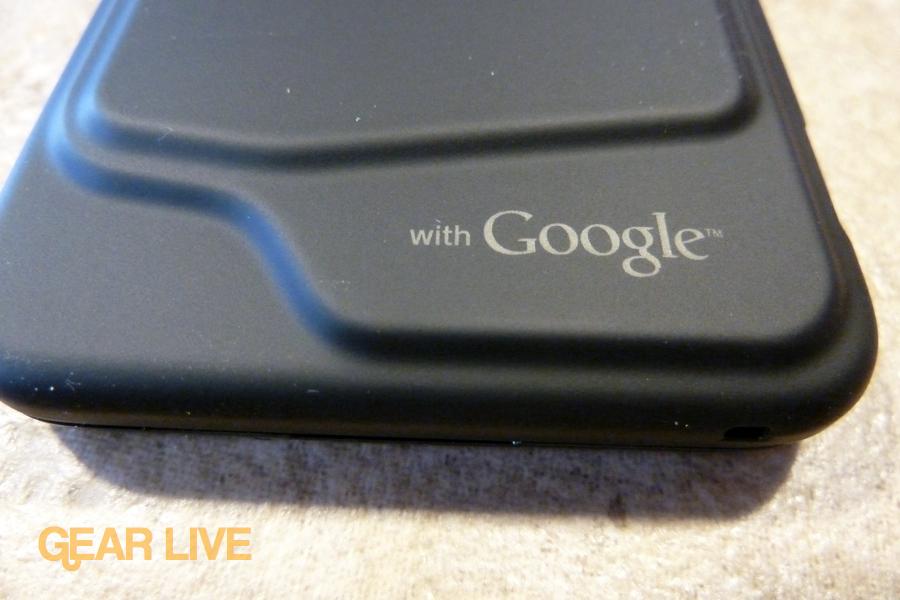 HTC Droid Incredible Google logo