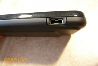 HTC Droid Incredible USB port