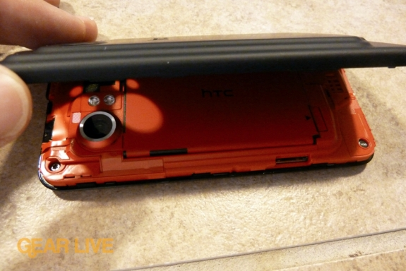 HTC Droid Incredible back cover