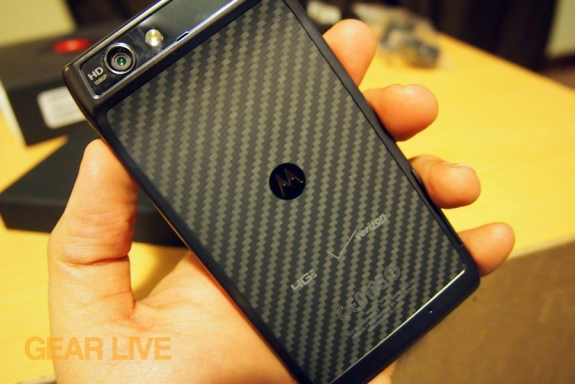 Droid RAZR Kevlar back