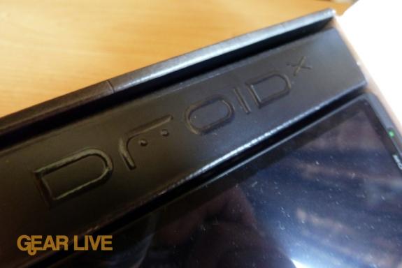 Motorola Droid X logo