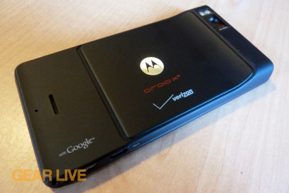 Motorola Droid X2 back