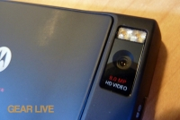 Motorola Droid X2 8 MP camera