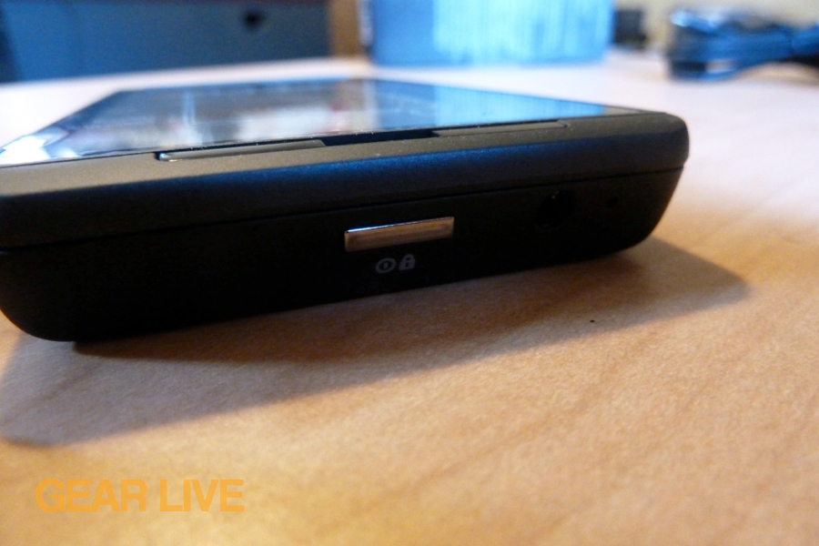 Motorola Droid X2 power button