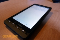 Motorola Droid X2 powered on