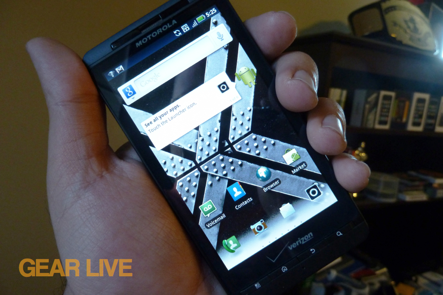 Motorola Droid X2 hands-on