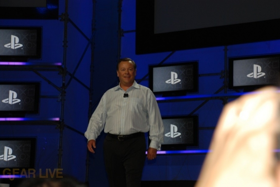 E308 Sony Briefing Jack Tretton arrives