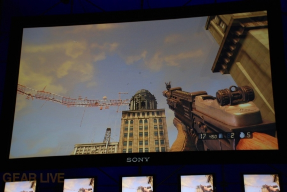 E308 Sony Briefing Resistance 2 screenshot
