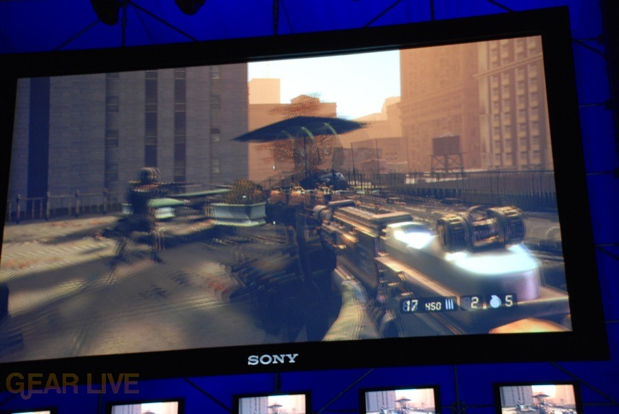 E308 Sony Briefing Resistance 2 screenshot 2