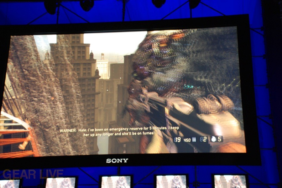 E308 Sony Briefing Resistance 2 screenshot 10