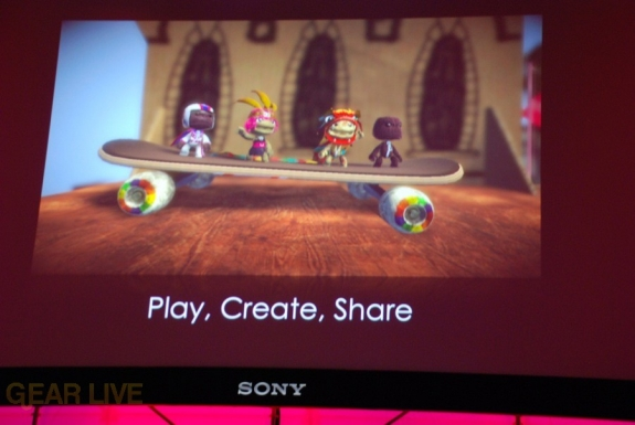 E308 Sony Briefing LittleBigPlanet splash