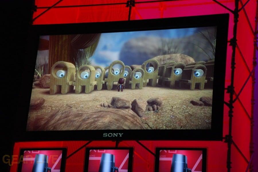 E308 Sony Briefing LittleBigPlanet screenshot
