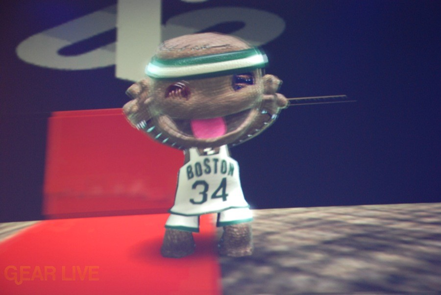 E308 Sony Briefing LittleBigPlanet Sackboy