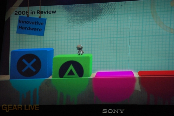 E308 Sony Briefing LittleBigPlanet screenshot 3