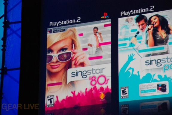 E308 Sony Briefing PS2 Singstar