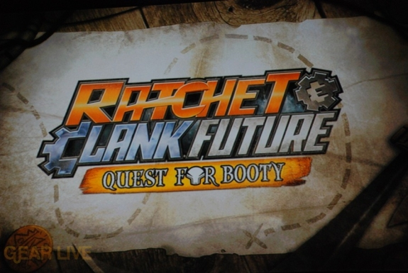 E308 Sony Briefing Ratchet Clank Future