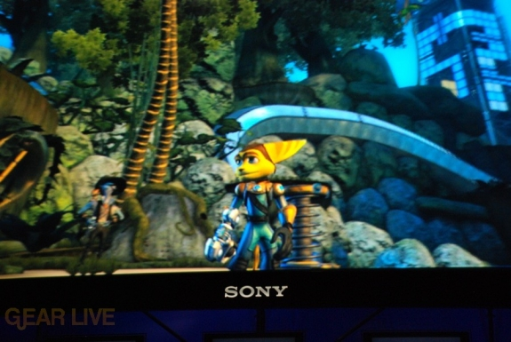 E308 Sony Briefing Ratchet Clank Future 2