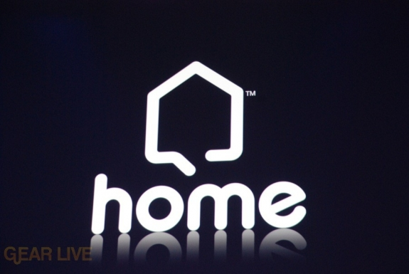 E308 Sony Briefing Playstation Home logo