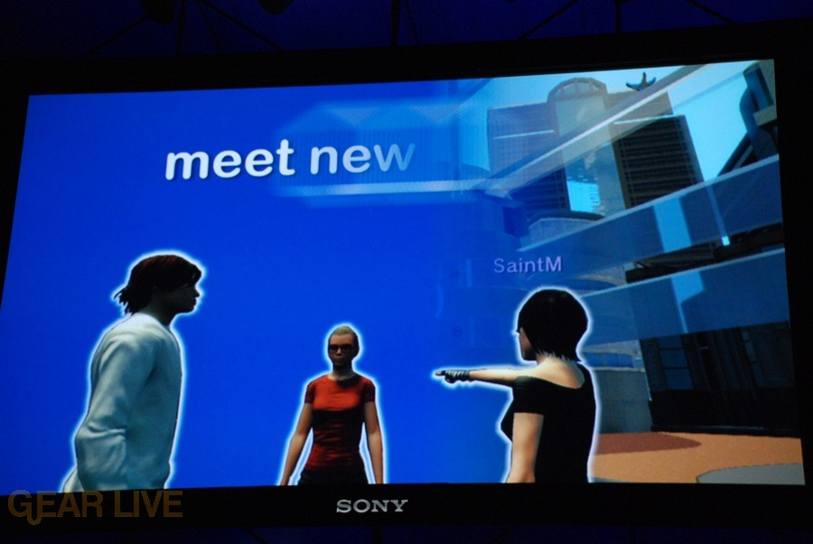 E308 Sony Briefing Playstation Home screenshot 2