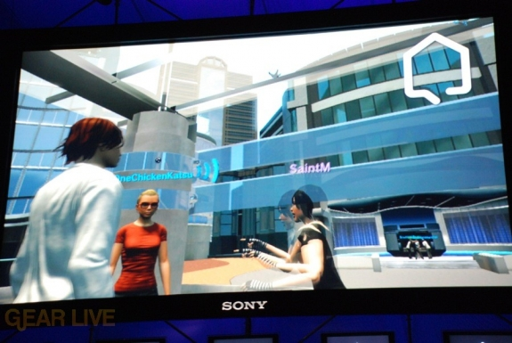 E308 Sony Briefing Playstation Home screenshot 3