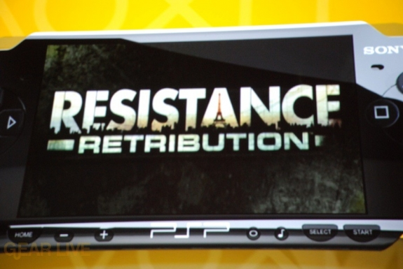 E308 Sony Briefing PSP Resistance Retribution