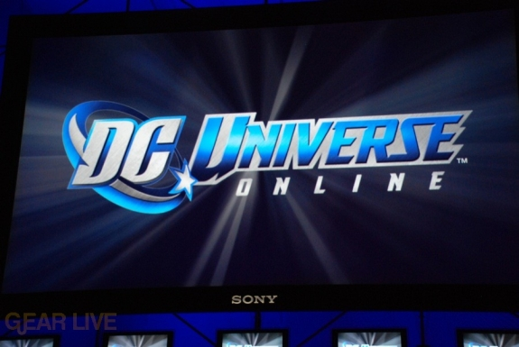 E308 Sony Briefing DC Universe Online