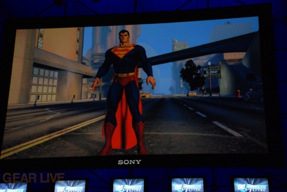 E308 Sony Briefing DC Universe Online screenshot