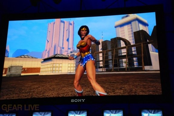 E308 Sony Briefing DC Universe Online screenshot 3