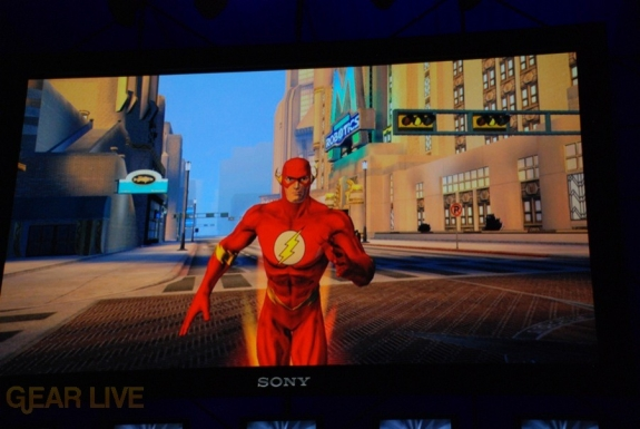 E308 Sony Briefing DC Universe Online screenshot 4