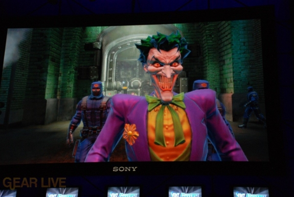 E308 Sony Briefing DC Universe Online screenshot 6