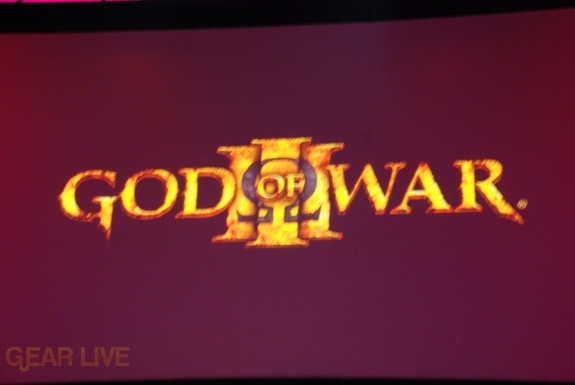 E308 Sony Briefing God of War 3