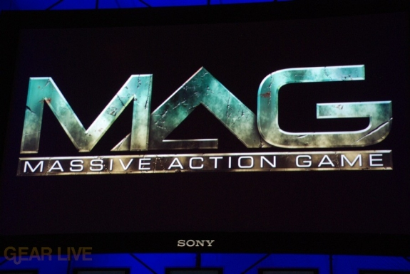 E308 Sony Briefing MAG Massive Action game