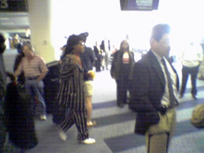 little richard just got on my flight to La