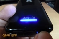 Exogear Exolife iPhone 4 battery case meter