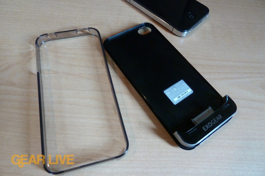 Exogear Exolife iPhone 4 battery case no bumper