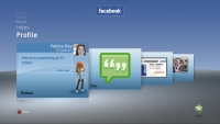 Facebook Profile on Xbox 360