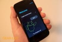 Galaxy Nexus setup