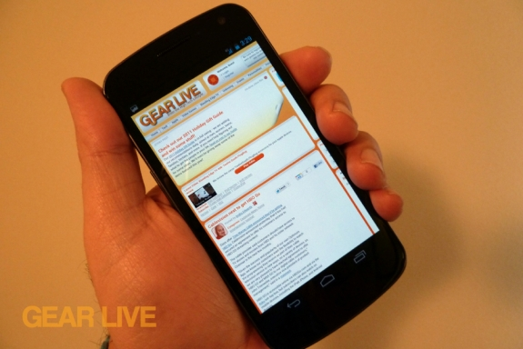 Samsung Galaxy Nexus price drop
