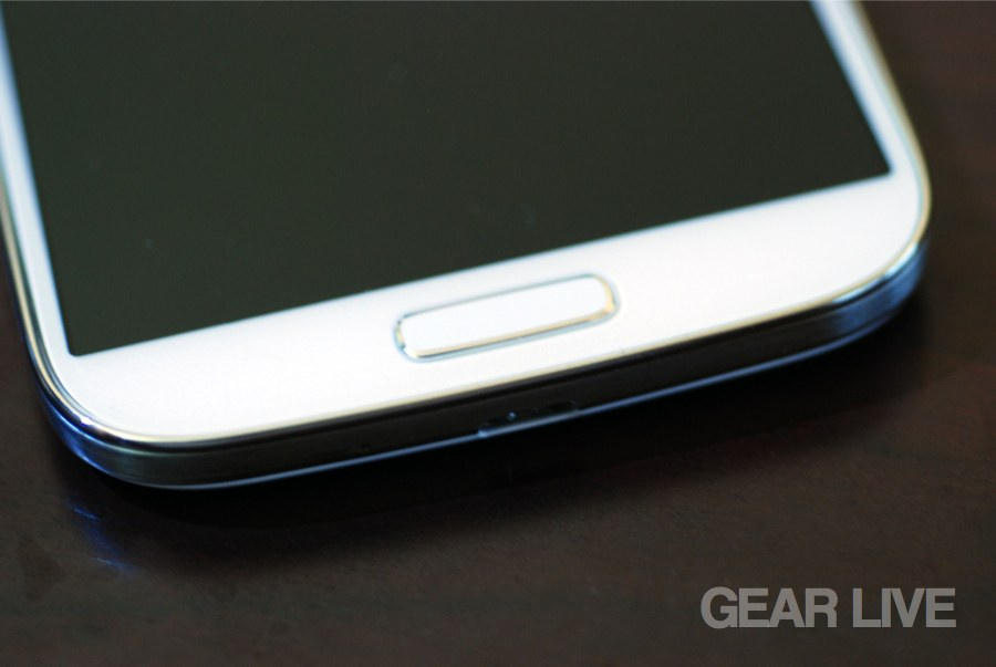 Samsung Galaxy S4 home button