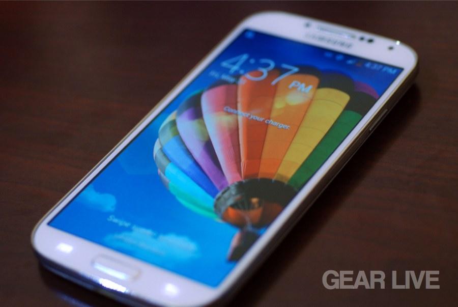 Samsung Galaxy S4 lock screen
