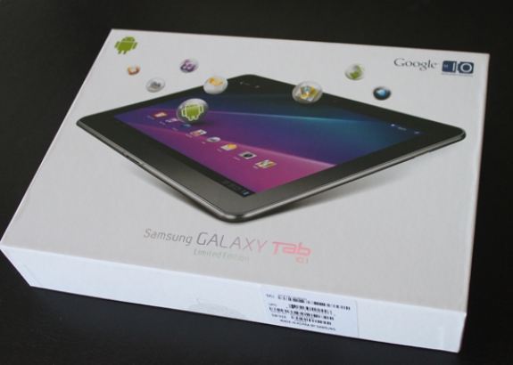 Samsung Galaxy Tab 10.1 box